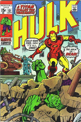 Incredible Hulk #131, Iron Man