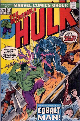 Incredible Hulk #173, the Cobalt Man