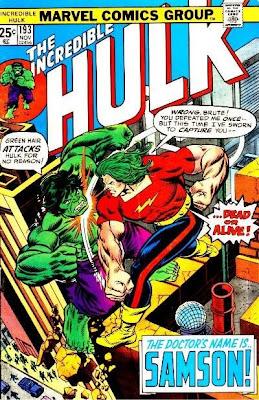 Incredible Hulk #193, Doc Samson, Herb Trimpe