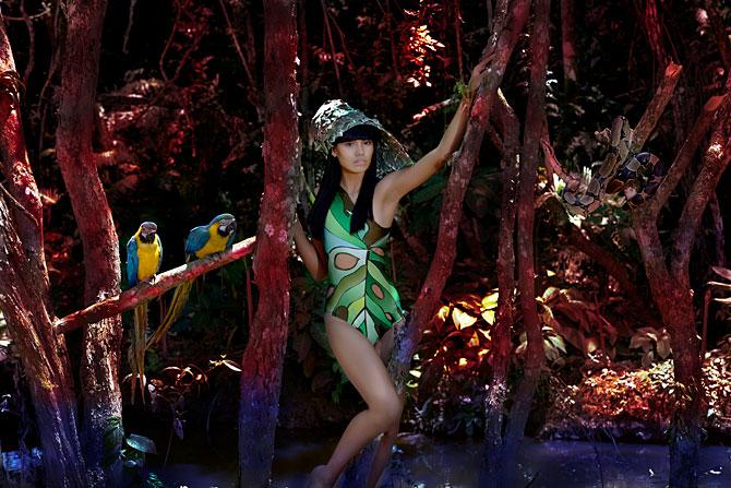 Tayna Carvalho , 18 anos, promete brilhar (e muito) no mundo da moda