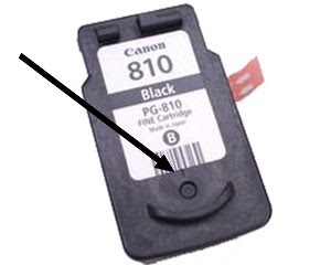 How to refill Canon PG-810 black ink cartridge
