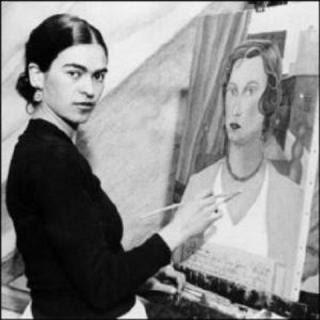 Frida Kahlo - Peintre dans Peinture
