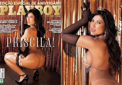 Veja Capa Da Priscila Do Bbb Nua Na Playboy