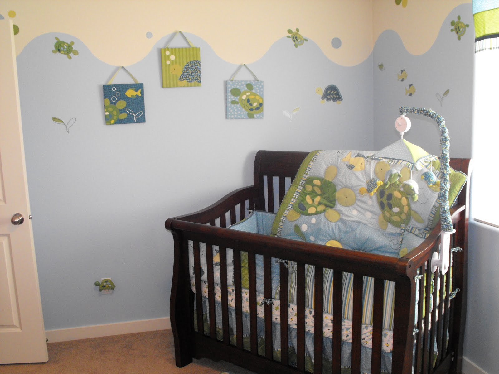 30 astounding baby boy room ideas slodive for Baby boy picture ideas
