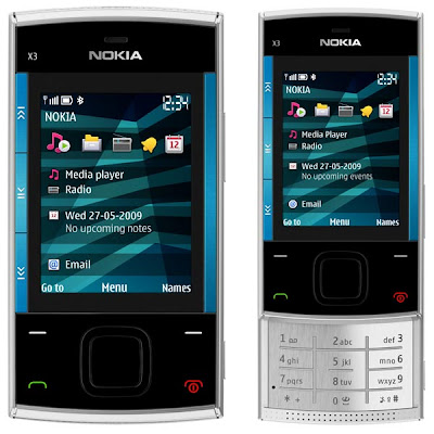 GAMBAR SPESIKASI NOKIA X3