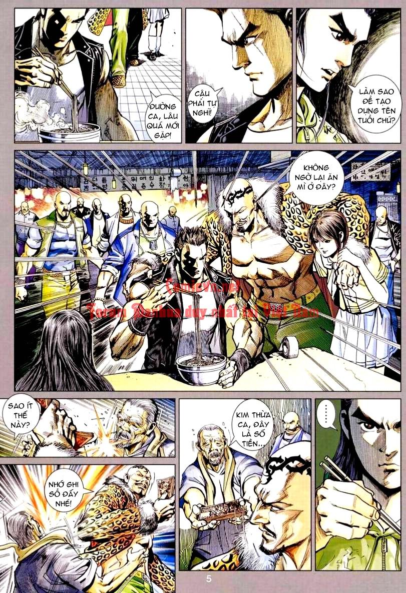 Vương Phong Lôi 1 chap 9 - Trang 5