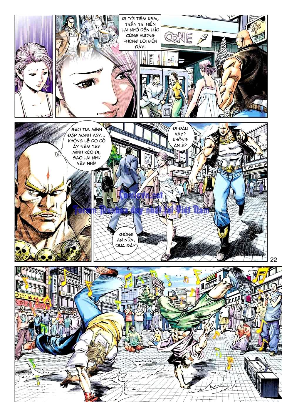 Vương Phong Lôi 1 chap 12 - Trang 21