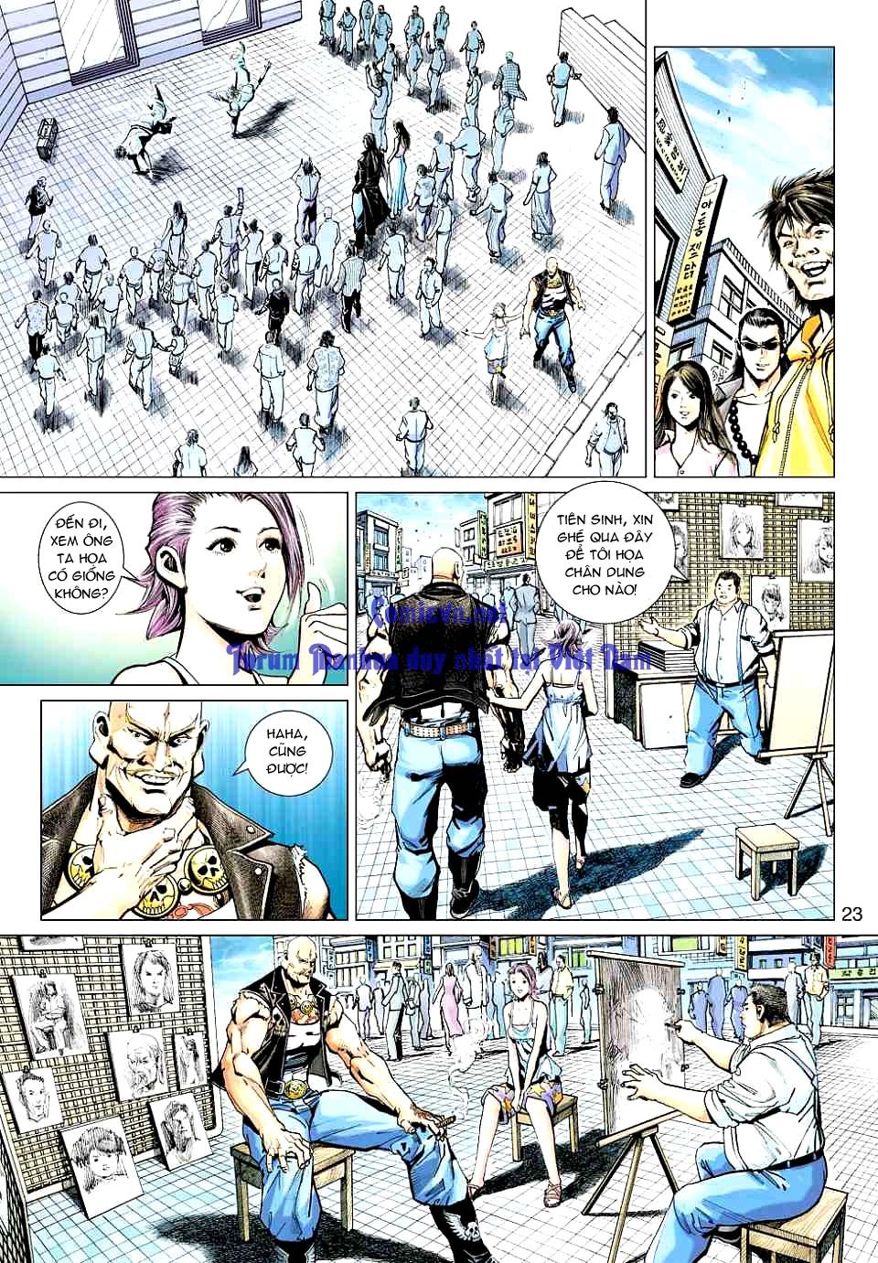 Vương Phong Lôi 1 chap 12 - Trang 22