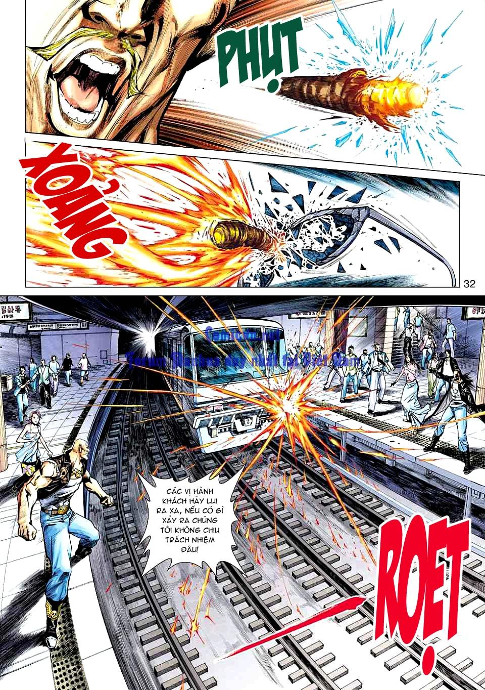 Vương Phong Lôi 1 chap 12 - Trang 30