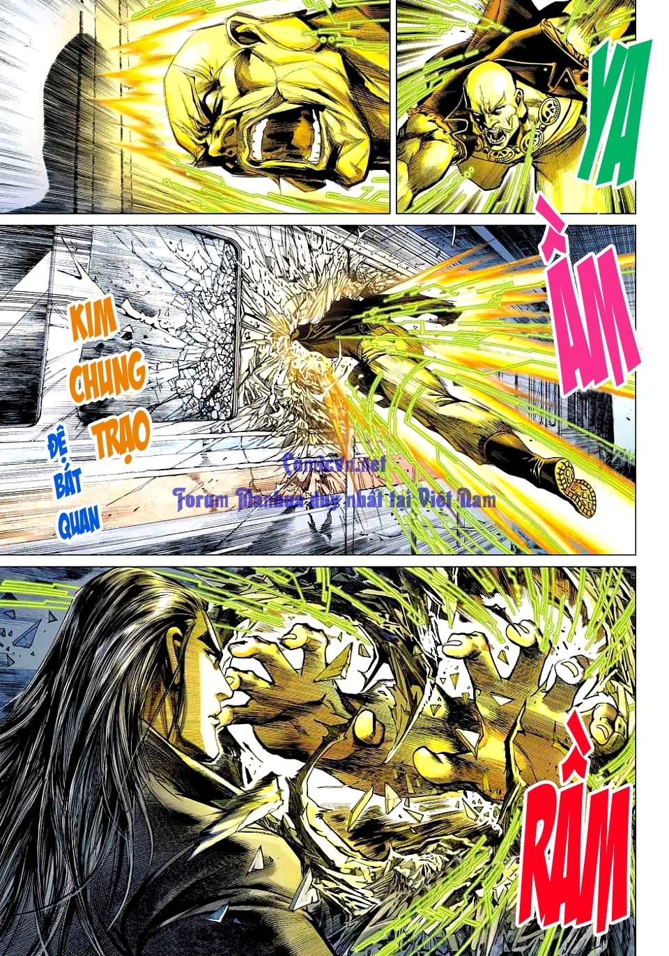 Vương Phong Lôi 1 chap 12 - Trang 31