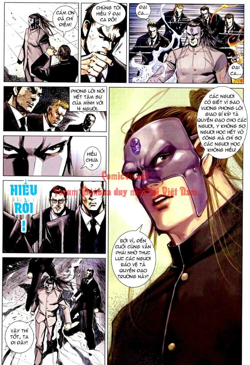 Vương Phong Lôi 1 chap 9 - Trang 19