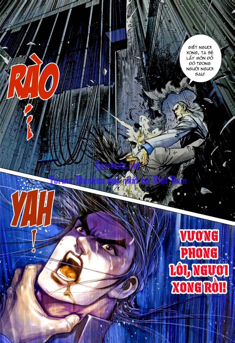 Vương Phong Lôi 1 chap 7 - Trang 21
