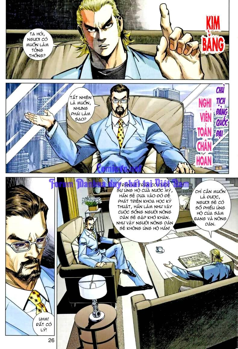 Vương Phong Lôi 1 chap 7 - Trang 24