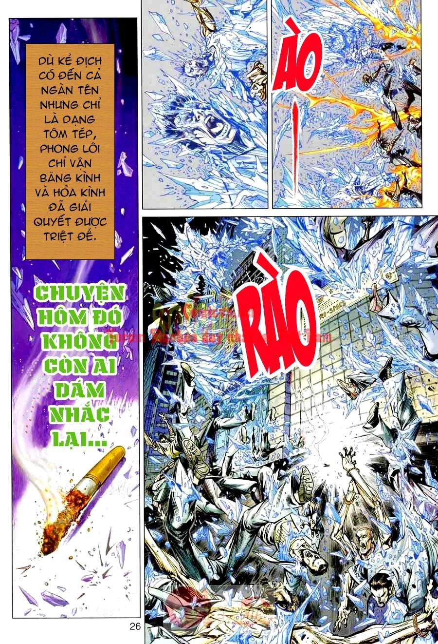 Vương Phong Lôi 1 chap 3 - Trang 22