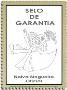 Selo de garantia - Noiva Blogueira