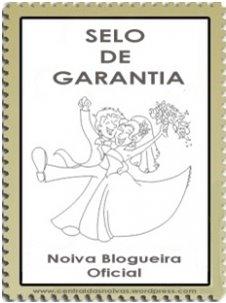 Selo de garantia - Noiva Blogueira