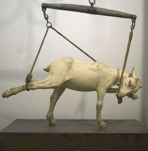 sculpture by Beth Cavener Stichter