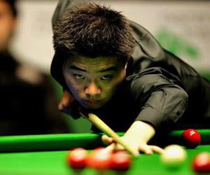 Дин Джуньху вышел в 1/4 финала Гран-При не только благодаря слабости соперника: его снукер в этот день был запоминающимся