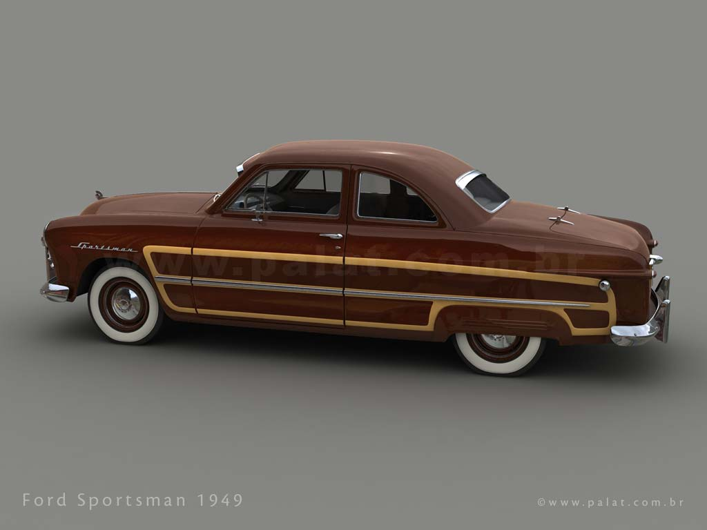 A Garagem Digital De Dan Palatnik The Garage Project 1949 Ford Crown Victoria Sportsman