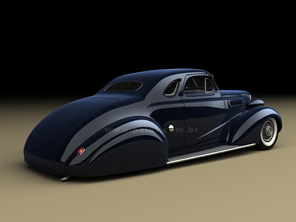 37 Chevy Coupe 3dmodel and