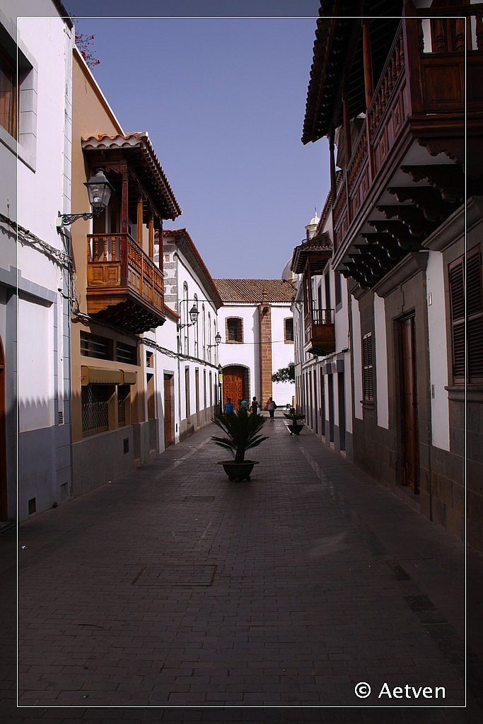 Rincones de canarias villa mariana de teror - Casas de madera en gran canaria ...