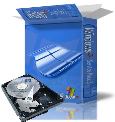 Windows XP Professional SATA Edition com SP3 Português BR