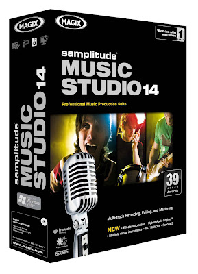 MAGIX Samplitude Music Studio 14.0.2
