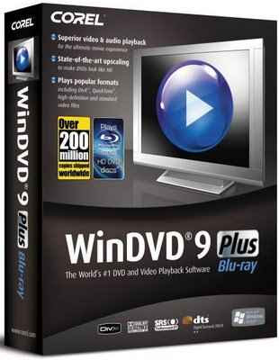 Download Corel WinDVD 9 Plus Blu ray SP1 9.014.119
