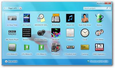 sshot 4 190 Microsoft Windows Vista Sidebar Gadgets