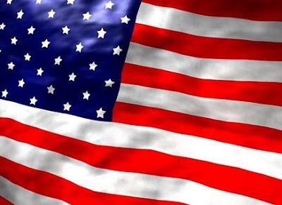 bandeira eua2 Curso Completo em Áudio e Apostila   Inglês Profissional.
