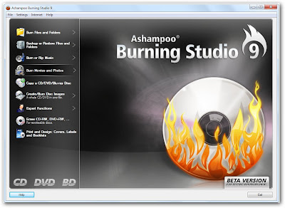 sshot 1 Ashampoo Burning Studio 9.0.0 Beta