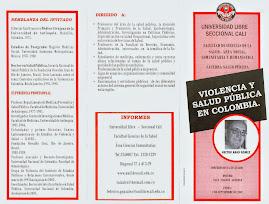VIOLENCIA y SALUD PUBLICA I