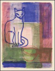 Kater M., Original-Lithografien von je 4 Steinen, Büttenformat: 54 x 39,5 cm, Auflage: 35 Exemplare, Signiert und nummeriert, Bildformat: 27 x 20,5 cm