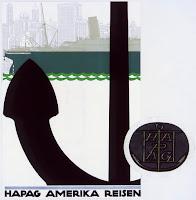 Prospekt für Schiffsreisen der HAPAG, 1914