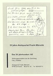 Katalog 165 des Antiquariats Frank Albrecht online betrachten