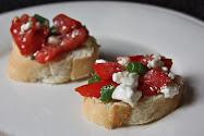 Tomato & Feta Brushetta