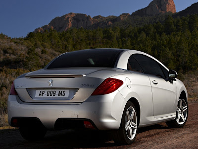 2009 Peugeot 308 CC rear