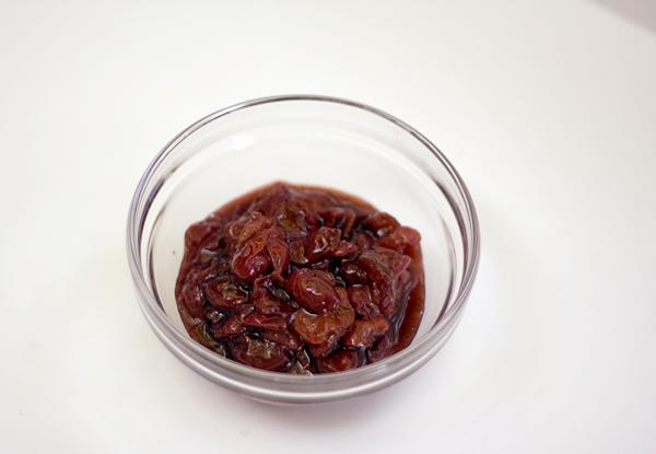 TASTY TRIX: Boozy Sour Cherry Compote