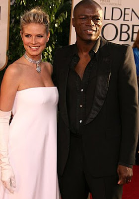 celebrity stock photos - Heidi Klum and Seal