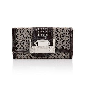 GUESS G-Shine Clutch - Black
