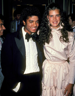 Michael Jackson and Brook Shields