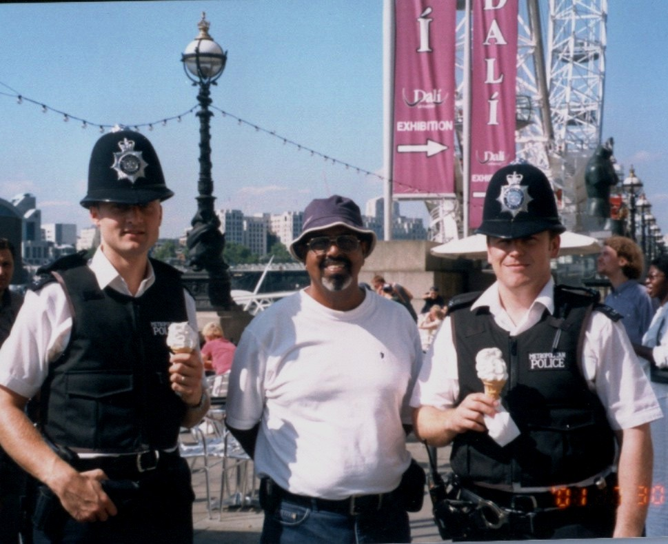 WITH LONDON BOBBIES