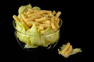 Calbee - Prawn Crackers - Prawn Salad
