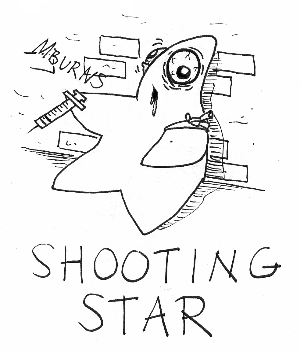 Shooting Star Coloring Pages Shooting Star Coloring Page