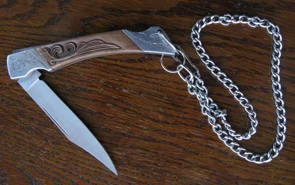 Сгъваем нож със заключване