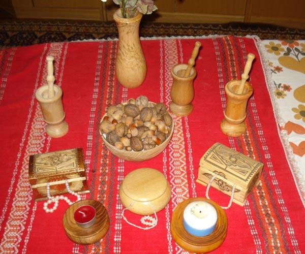 Вещи за бита от дърво