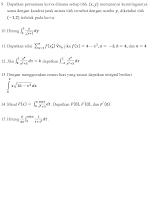Latihan Kalkulus (2)