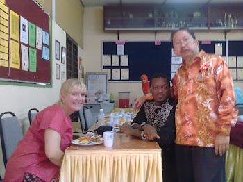 Guru Pelatih Bahasa Inggeris dari Universiti Michigan State, Amerika Syarikat 2010