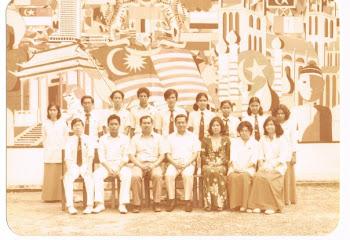AJK Persatuan Bahasa Melayu MES 1977