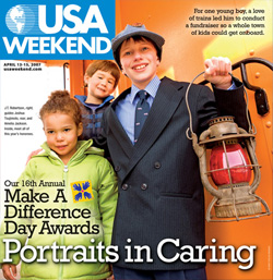 JT's and Josh USA Weekend Cover